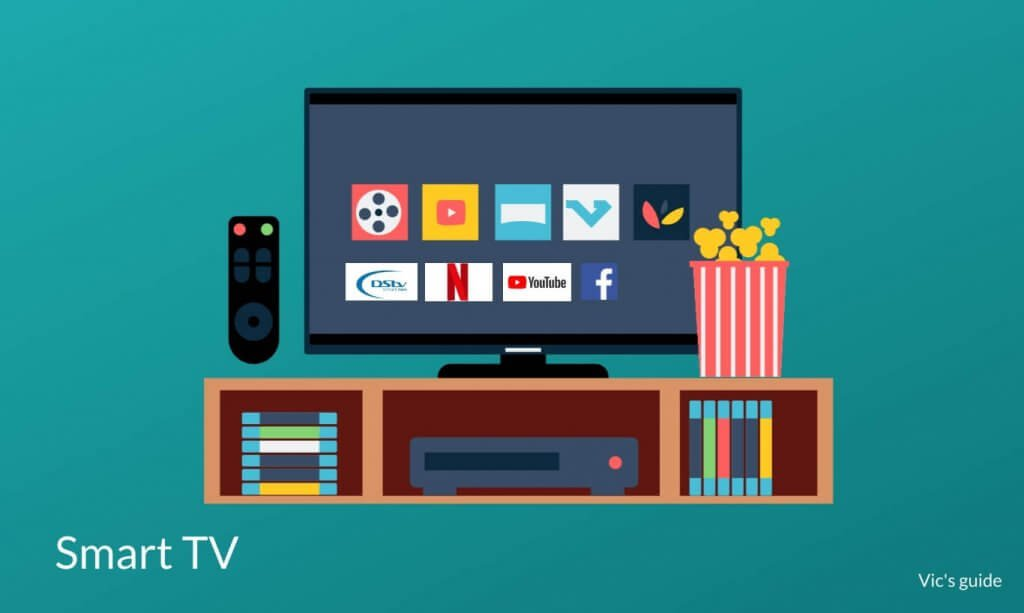 Smart tv illustration- TV buying guide