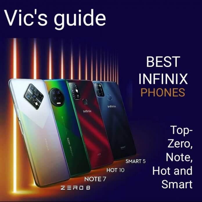 Best Infinix phones in Nigeria