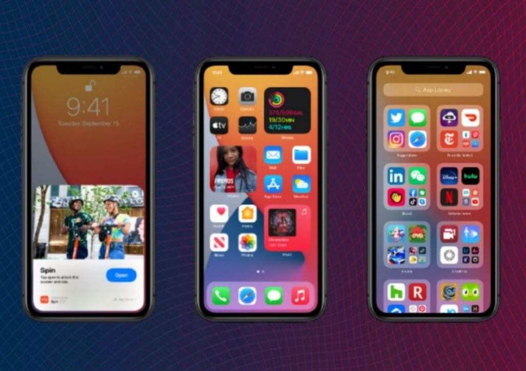 ios 14 features, released date and supported devices