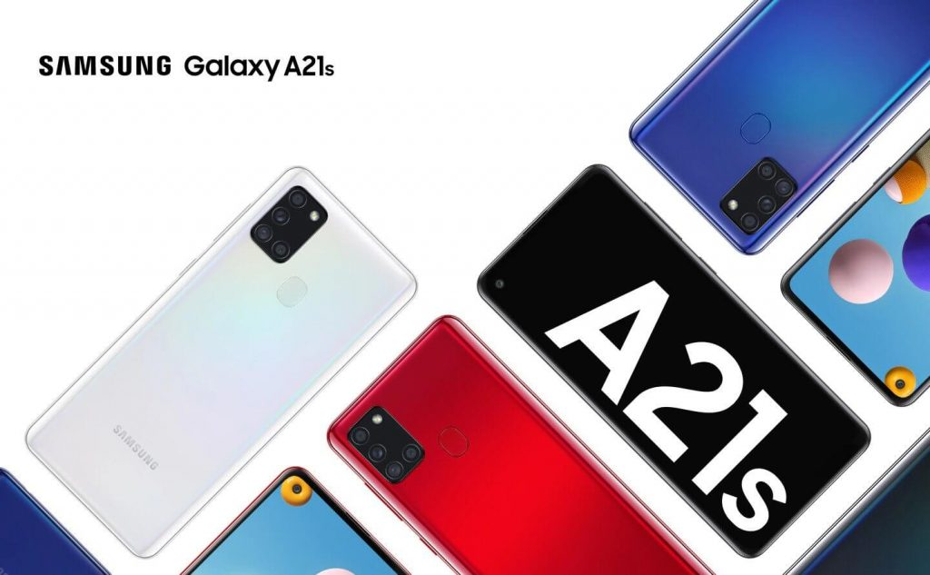 samsung galaxy a21s design