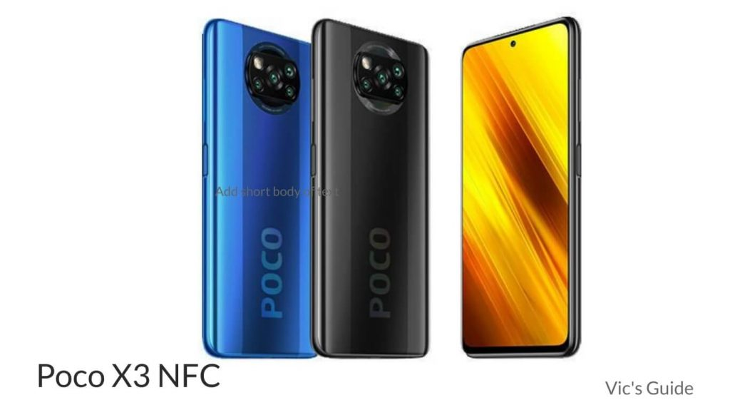 Xiaomi Poco X3 price in Nigeria