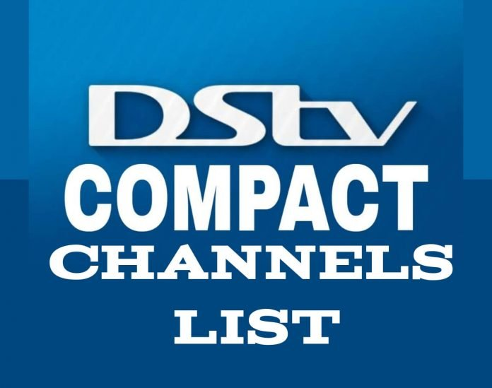 DSTV compact Channels list and price in Neigeria