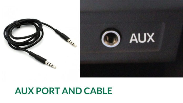 Aux Port and Cable Explained