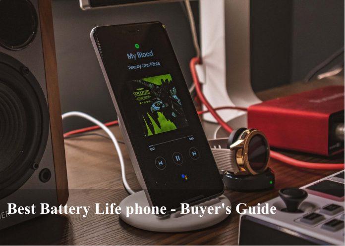 Best battery life phone