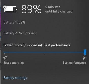 PCX2 fix lag: Battery settings